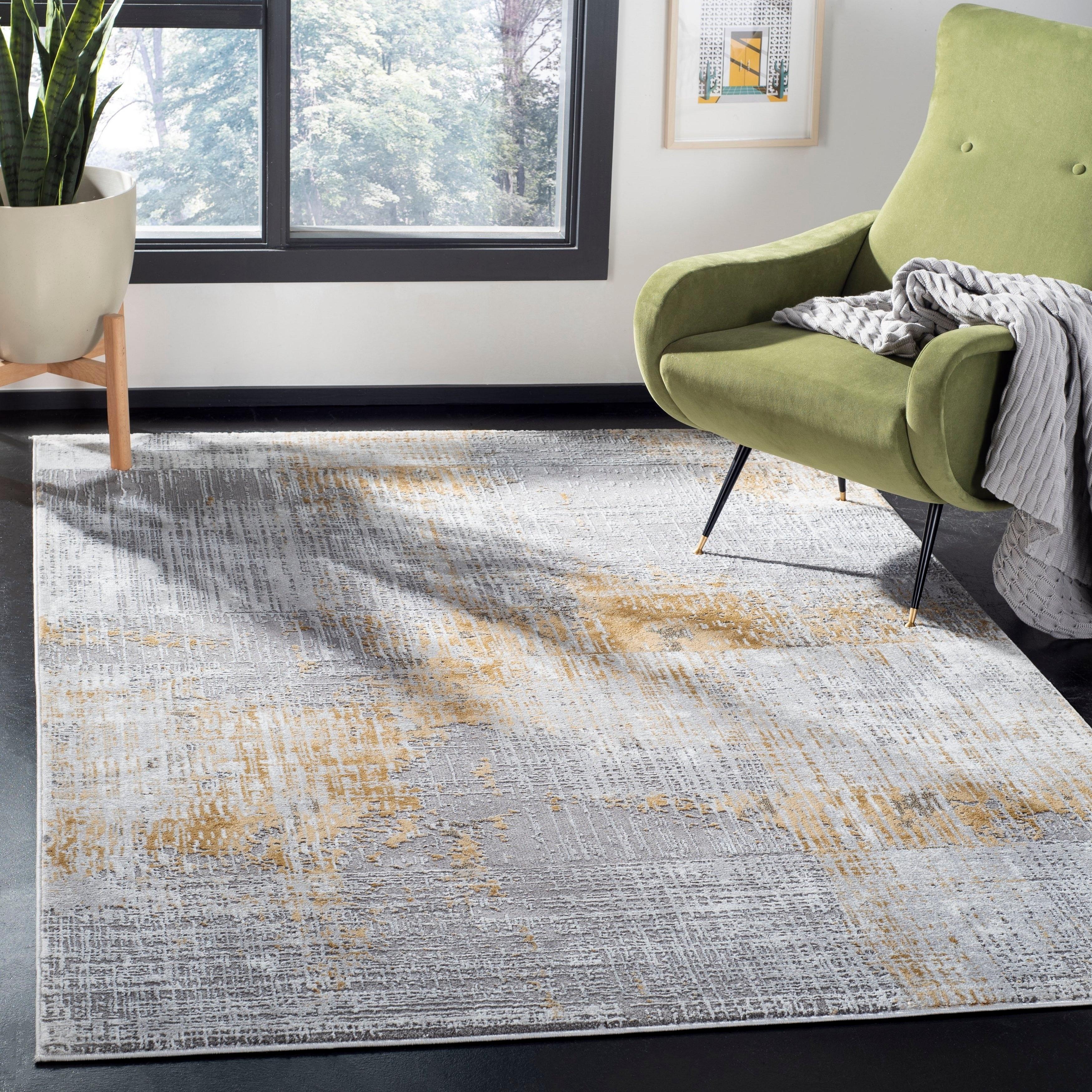 Shop Safavieh Craft Hertha Modern Abstract Rug On Sale Free