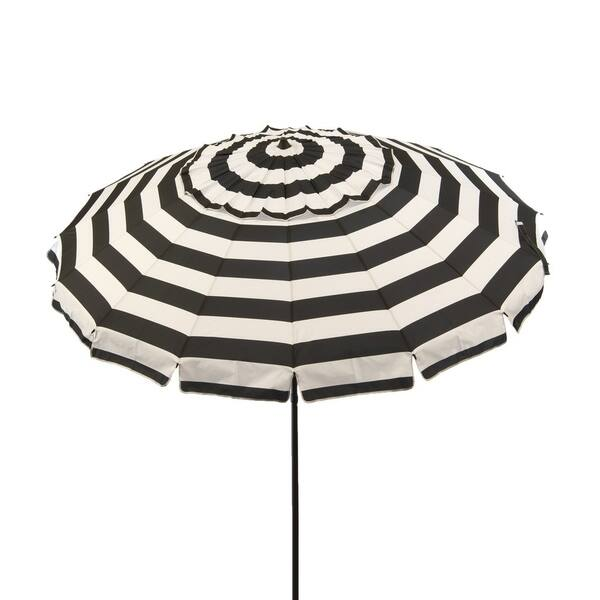 8 Ft Black And White Stripe Deluxe