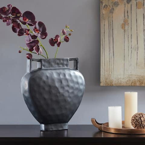 Madison Park Brighton Dark Grey Vase