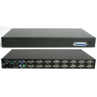 StarTech.com 1U Rackmount Power Switch 8 Outlet 15 Amp RS232 Serial C