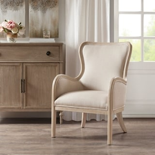 Madison Park Louise Natural Accent Chair