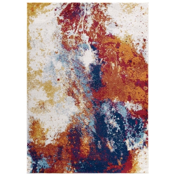 Porch & Den Elshin Abstract Area Rug - 5' x 8'