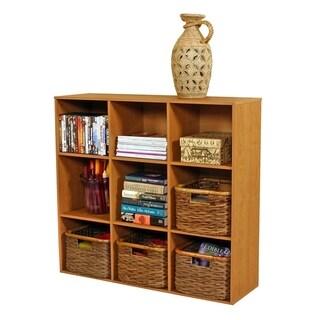 Venture Horizon 9 Shelf Project Center Bookcase - Oak