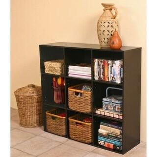 Venture Horizon 9 Shelf Project Center Bookcase - Black