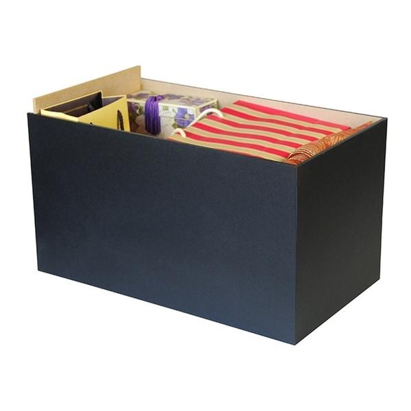 Venture Horizon Project Center Drawer, Black - Set of 3