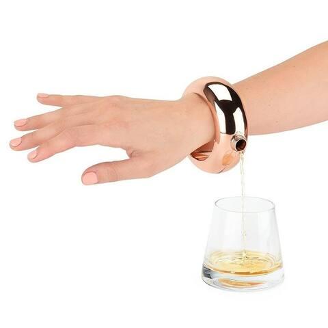 Stainless Steel Bangle Bracelet Flask