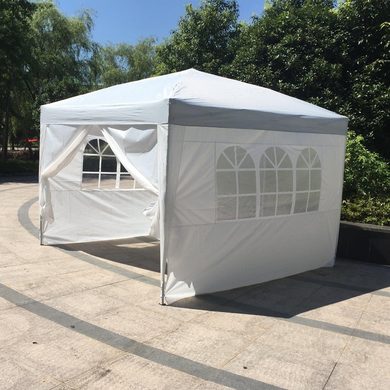 Wedding With White Tent: Kinbor 10' X 10' Wedding Party Tent Outdoor Gazebo Canopy