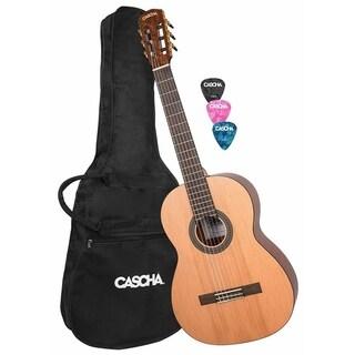 Cascha Classical Guitar Full Size with Gigbag & Picks - N/A