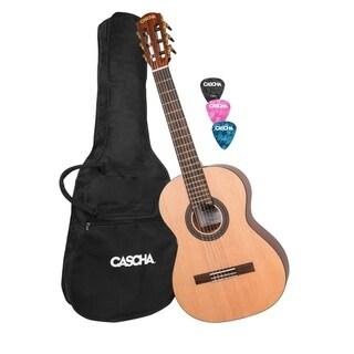 Cascha Children's Classical Guitar with Gigbag & Picks - N/A