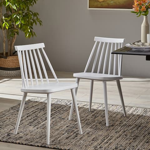 Dunsmuir Spindle-back Dining Chair (Set of 2) by Christopher Knight Home