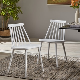 Link to Dunsmuir Spindle-back Dining Chair (Set of 2) by Christopher Knight Home Similar Items in Dining Room & Bar Furniture