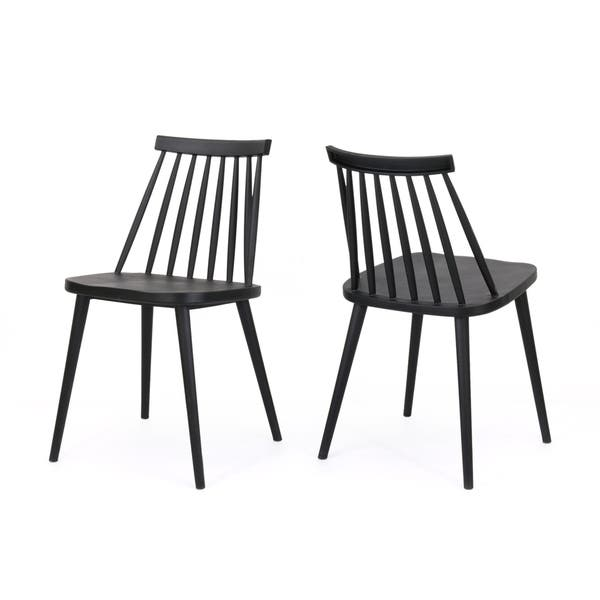 Strange Shop Dunsmuir Farmhouse Spindle Back Dining Chair Set Of 2 Alphanode Cool Chair Designs And Ideas Alphanodeonline