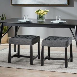 Hargett Modern Backless Dining Stools by Christopher Knight Home