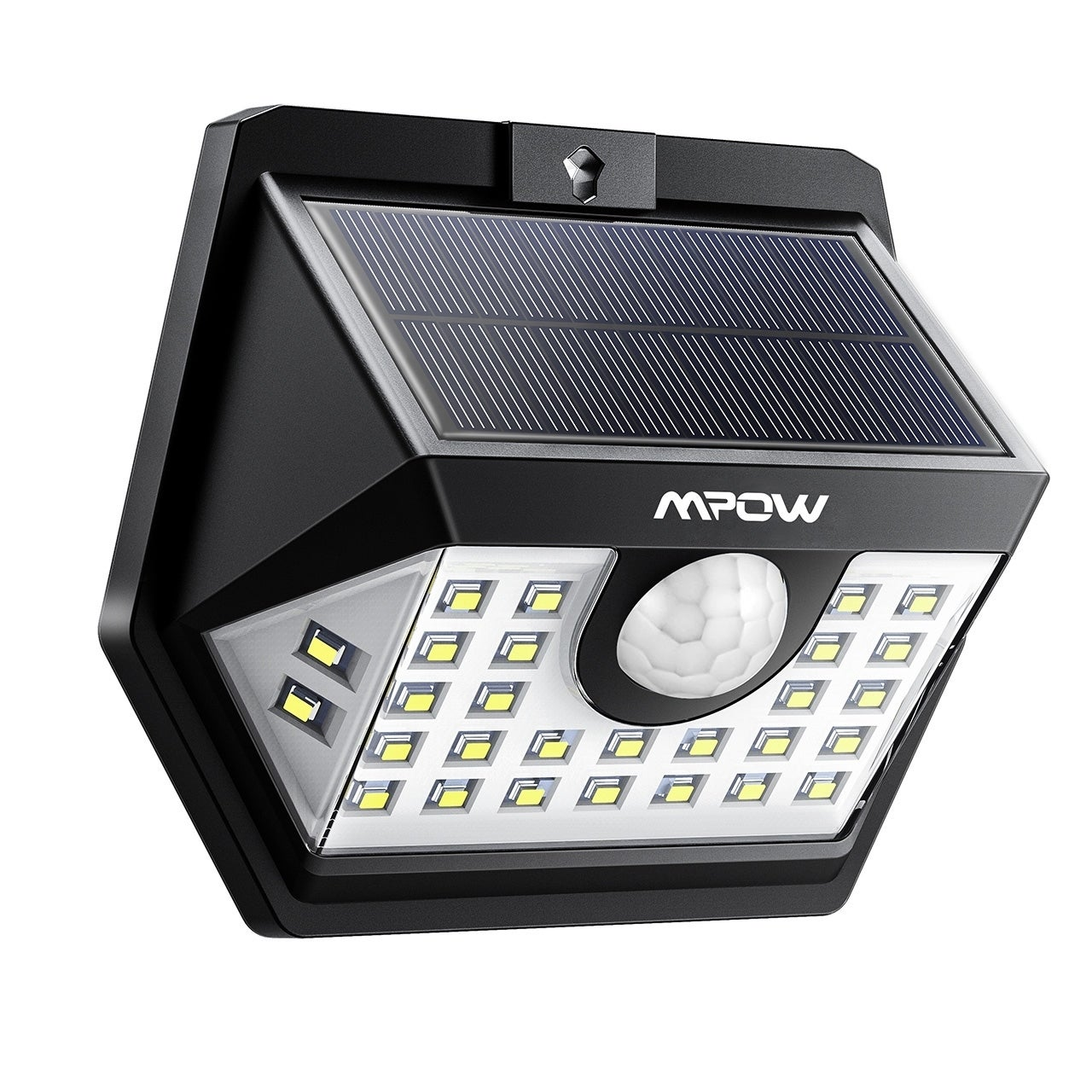 Mpow 30 Led Solar Motion Sensor Lights Ip65 Waterproof Outdoor With 3 Lighting Modes