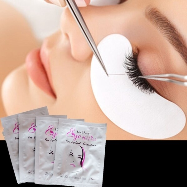 45bf6fadc54 Shop Gel Pad for Eyelash Extensions Lint Free (Pack of 50) - Free ...