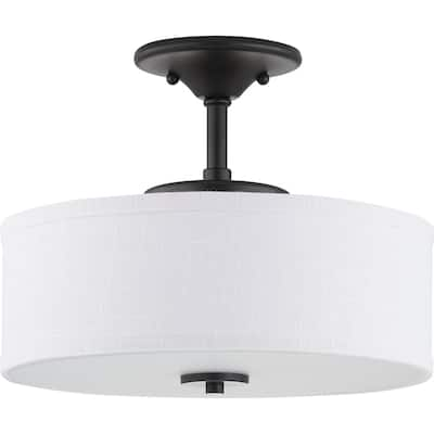Inspire LED Collection One-Light LED Semi-Flush - N/A