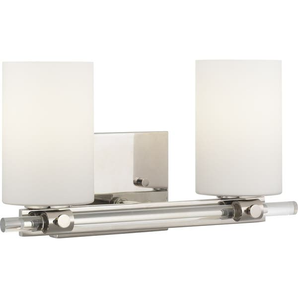 Lisbon Collection Two Light Bath Vanity N A Free
