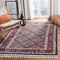 Safavieh Farmhouse Linette Boho Tribal Polyester Rug
