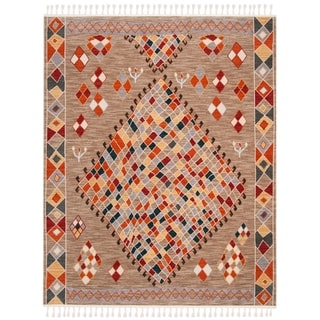 Safavieh Farmhouse Marnie Boho Tribal Polyester Rug