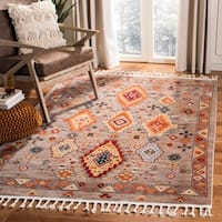 Safavieh Farmhouse Tyra Boho Tribal Polyester Rug