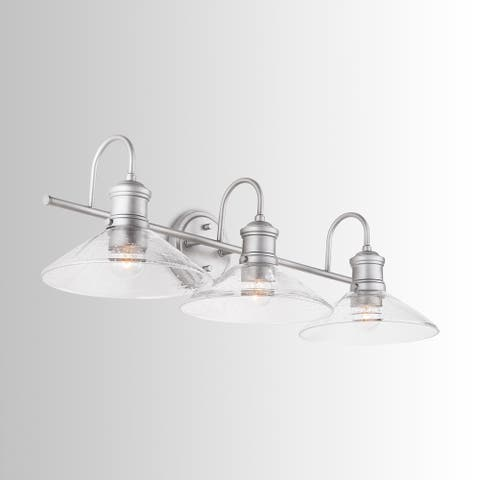 Carbon Loft Joseph 3-light Brushed Nickel Vanity Fixture - Brushed Nickel
