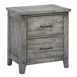 bcdc6c3cfa8 Buy New Products - Grey Nightstands   Bedside Tables Online at Overstock.com