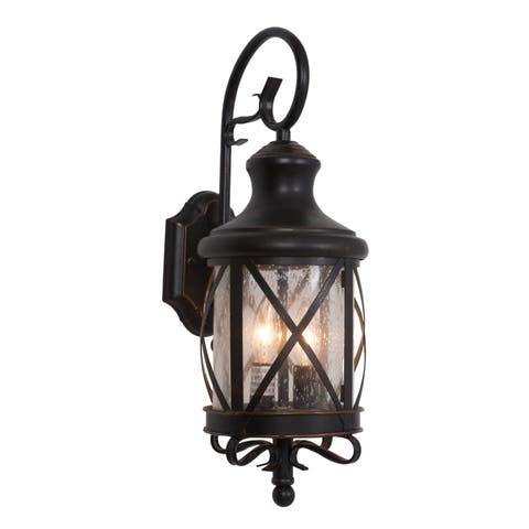 Yosemite Home Decor Lorenza Collection 19.37 inch Outdoor Wall Light - 9.62 x 7.37 x 19.37