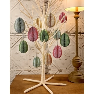 3 Inch Wrapped Wire Easter Egg 12 Pack