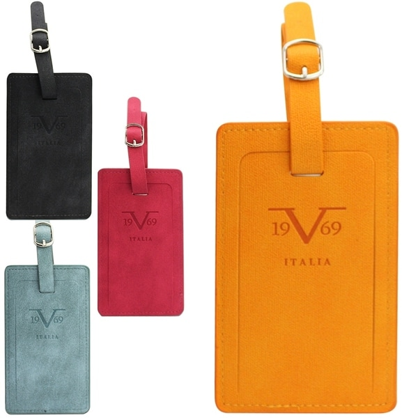 19V69 Italia Luggage Tag Pair with Hidden Information Cards
