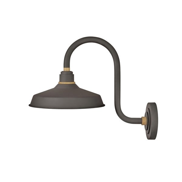 Hinkley Foundry 1-Light Outdoor Wall Mount Lantern in Museum Bronze. Opens flyout.