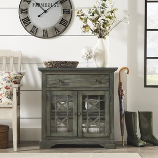 Patsy Antique Sage Nightstand by iNSPIRE Q Classic