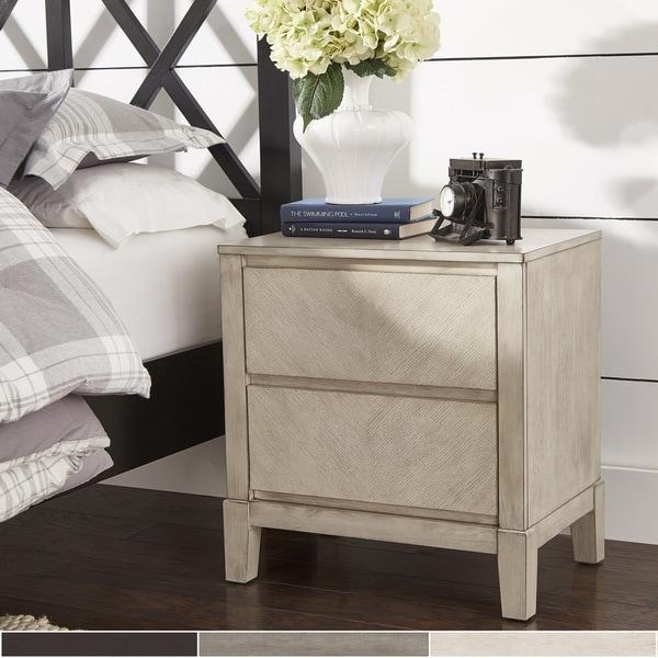 Copper Grove Vantaa Antique 2-drawer Nightstand