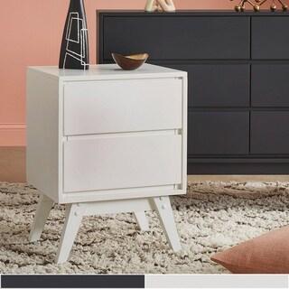 Carson Carrington Falmark 2-drawer Mid-century Modern Nightstand