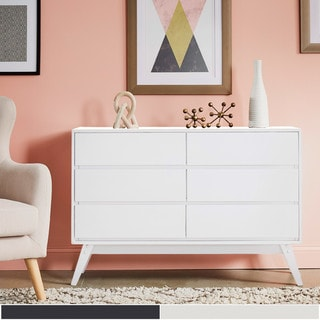 Carson Carrington Falmark 6-drawer Mid-century Modern Dresser