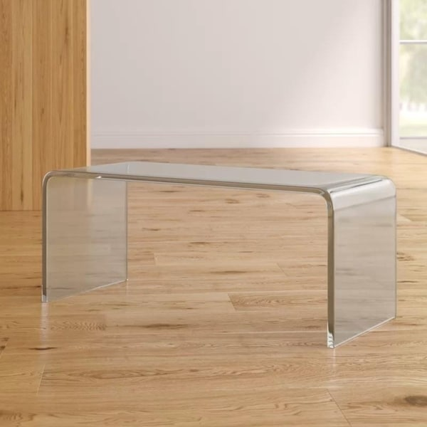 Shop Valadez Acrylic Coffee Table   Free Shipping Today   Overstock    26298416