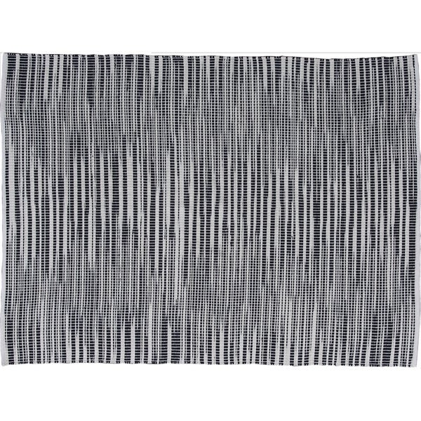 Homestead Elements Black & White Chic Area Rug