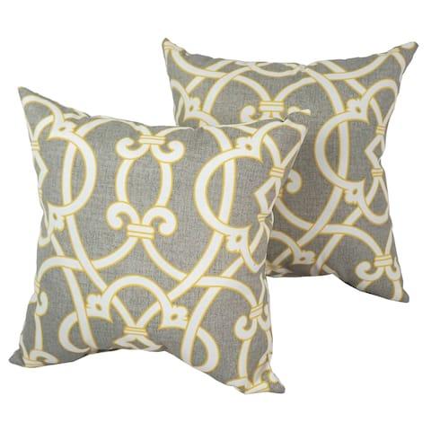 Solarium Marrakesh 17-inch Indoor/Outdoor Throw Pillows (Set of 2)