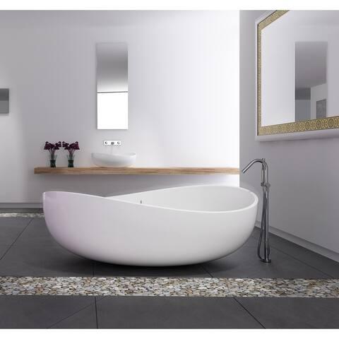 Newport 71 Solid Surface Freestanding Bathtub