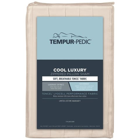 Tempur-Pedic Cool Luxury Zippered Pillow Sham