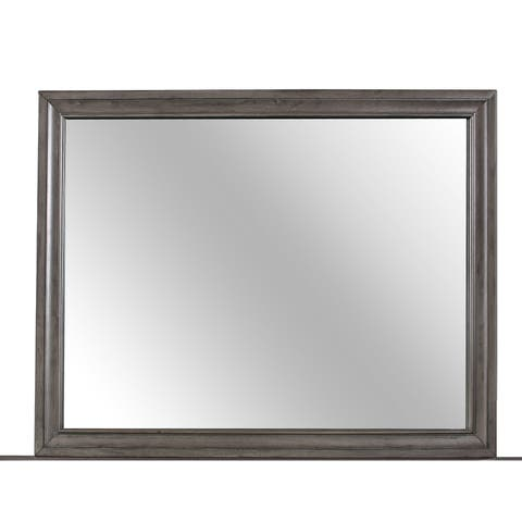 Silver Orchid Turpin Grey Mirror