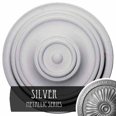 """31 1/2""""OD x 2 1/2""""P Traditional Ceiling Medallion"""