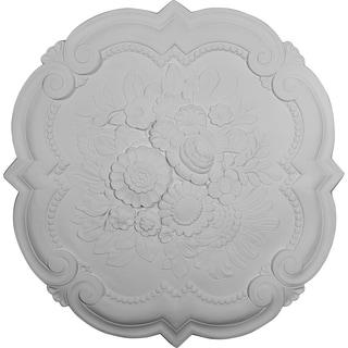 "24 3/8""OD x 1""P Victorian Ceiling Medallion"