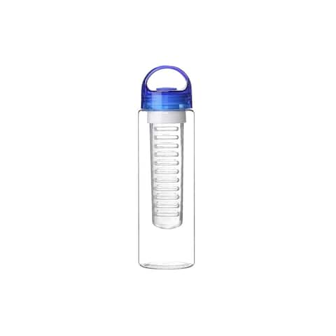 24 oz Sport Fruit Infusion Water Bottle BPA Free - Blue Color