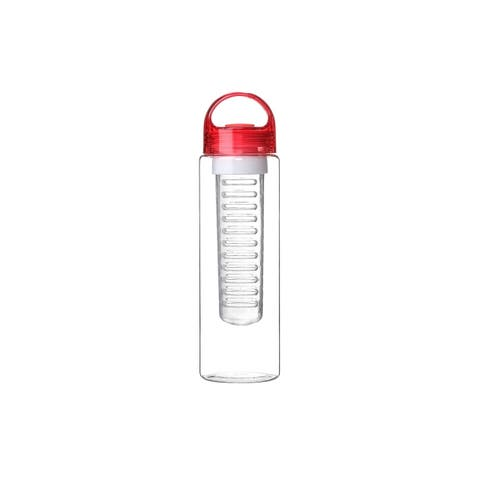 24 oz Sport Fruit Infusion Water Bottle BPA Free - Red Color