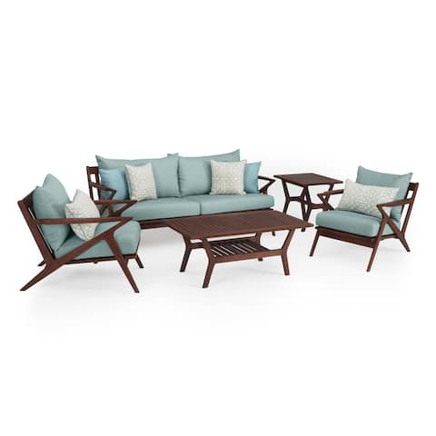 Vaughn 5pc Seating Set in Spa Blue by RST Brands
