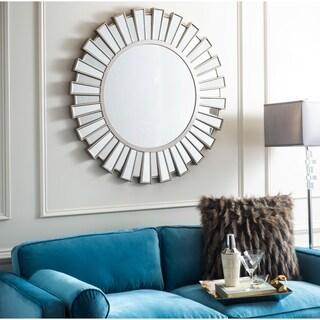 "Safavieh Balin Sunburst Mirror - Silver - 47"" x 0.8"" x 31.3"""