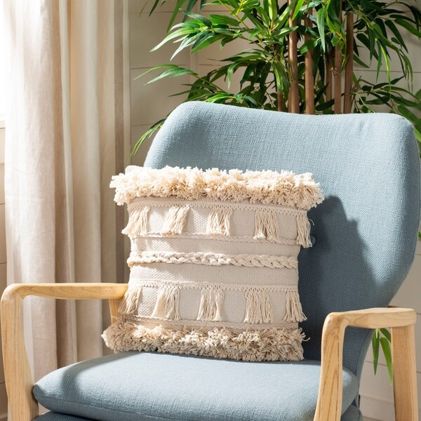 Safavieh Loli 22 Inch Decorative Throw Pillow