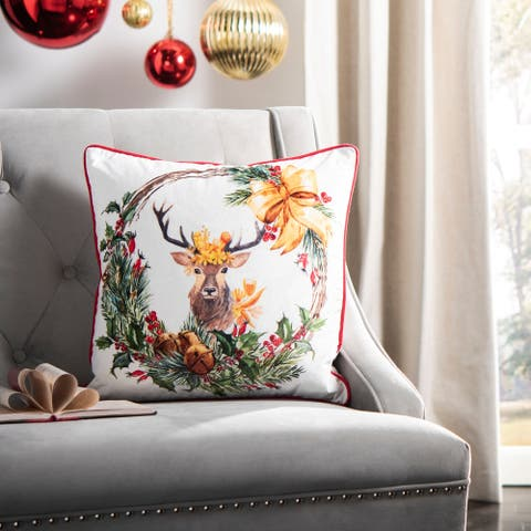 Safavieh Cranberry Decorative Pillow