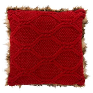 Safavieh Luccia Faux Fur Pillow