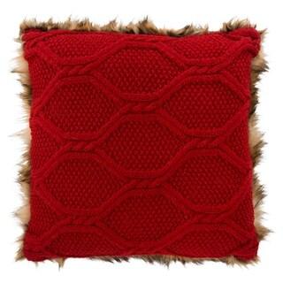 Safavieh Luccia Faux Fur Decorative Pillow